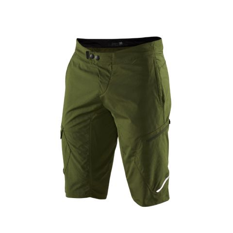 100% Ridecamp Shorts Fatigue